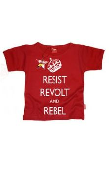 Resist, Revolt, Rebel Boys T Shirt