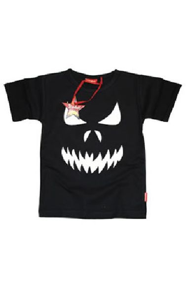 Scary Face Boys T Shirt