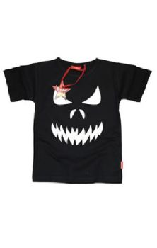 Scary Face Teen T Shirt