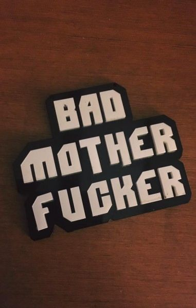 Bad Mother Fucker Necklace