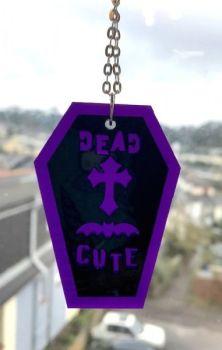 Dead Cute Coffin Earrings
