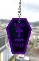 Dead Cute Coffin Necklace