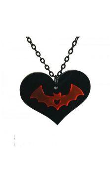 Vamp Heart Necklace