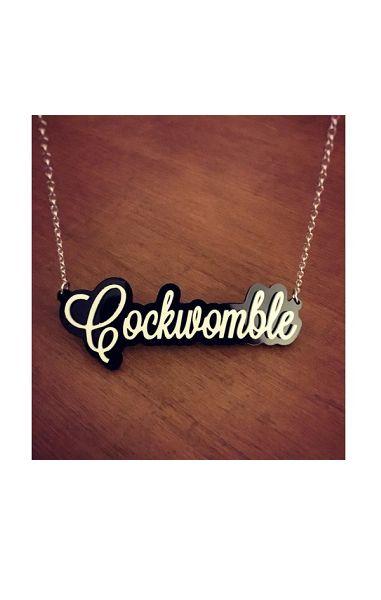 Cockwomble Necklace