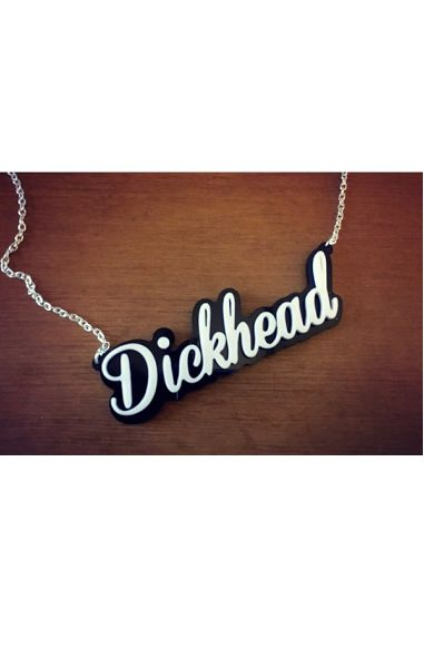 Dickhead Necklace