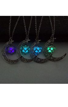 Magic Moon Glow Pendant - Glows in the dark