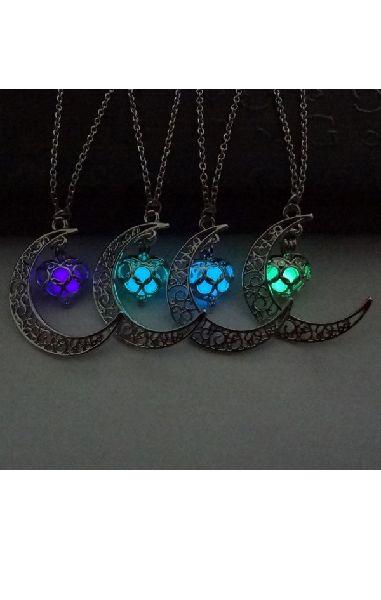 Magic Moon Glow Pendant - Glows in the dark