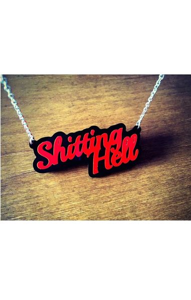 Shitting Hell Necklace
