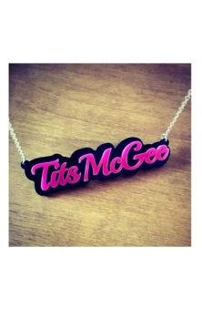 Tits McGee Necklace RRP £7.99