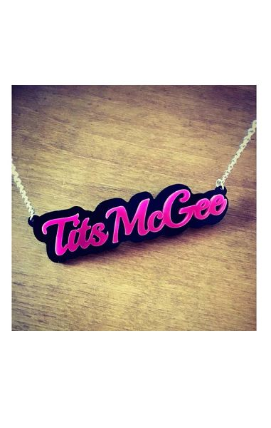 Tits McGee Necklace