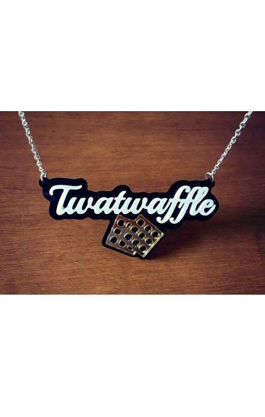 Twat Waffle Necklace