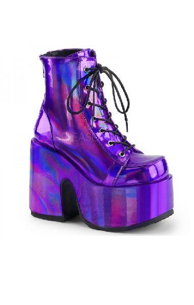 Camel 203 Purple Hologram Boots