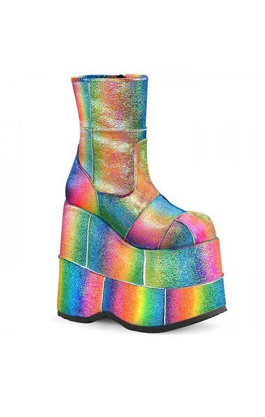 Stack 201 Rainbow Glitter Boots