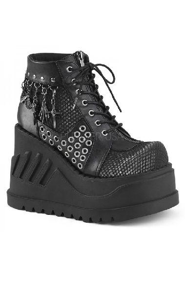 Stomp 18 Boots Black