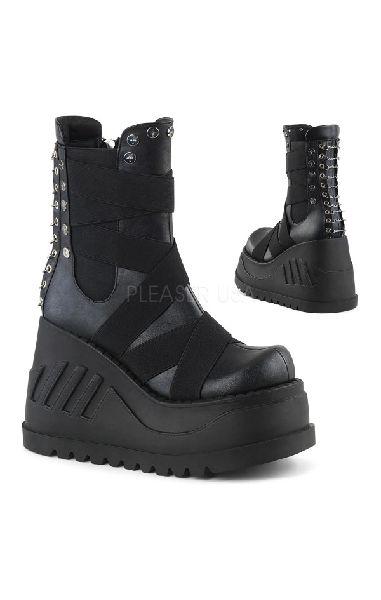 Stomp 25 Boots Vegan Black