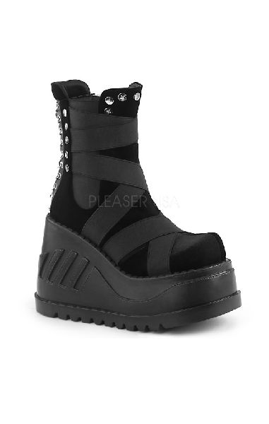 Stomp 25 Boots Velvet