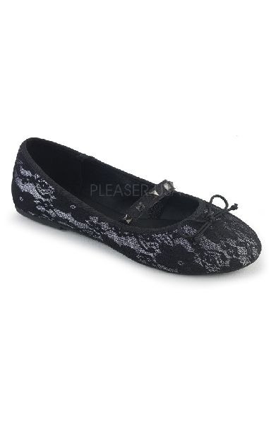 Drac 07 Flats - Black Lace