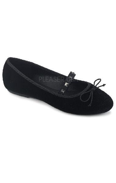 Drac 07 Flats - Black Velvet