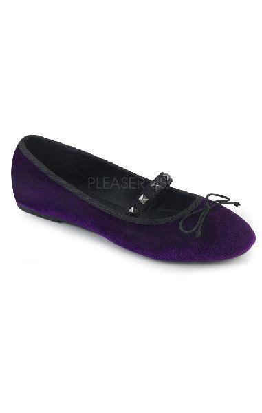 Drac 07 Flats - Purple Velvet