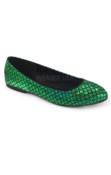 Mermaid 21 Flats Green