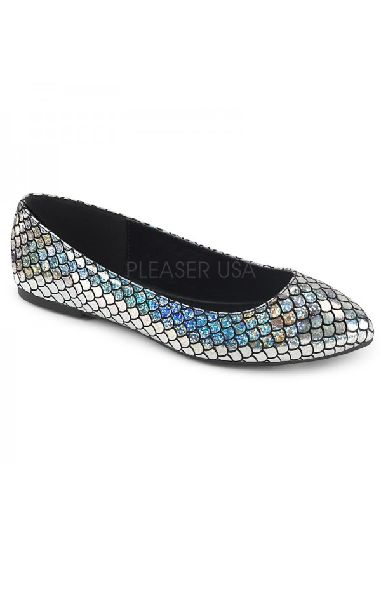 Mermaid 21 Flats Silver