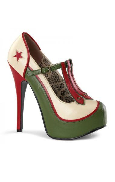 Teeze 43 Military Heels
