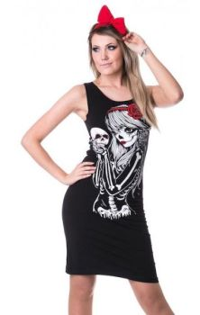 Crow Girl Slasher Dress