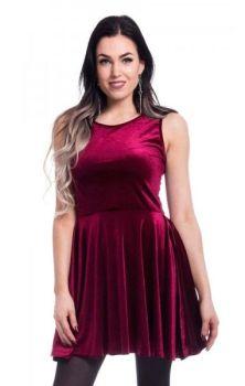 Edit Skater Dress - Red