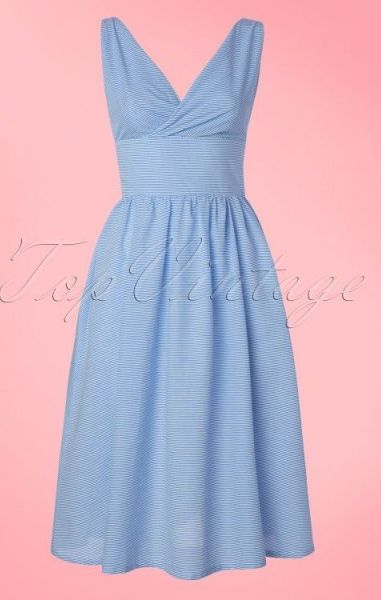 Front Row Dress - Navy