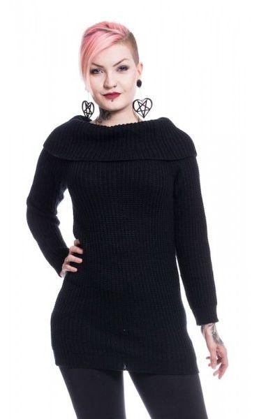 Off Shoulder Knit Dress