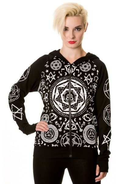 Black Pentagram Hoody