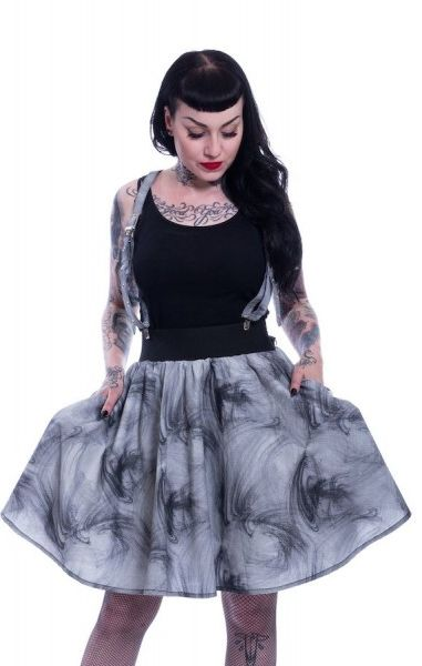 Dark Smoke Skirt