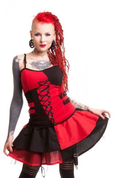 Jester Skirt - Harley Quinn Inspired
