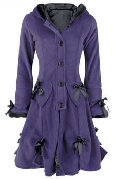 Alice Coat - Purple