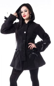Alison Coat - Black