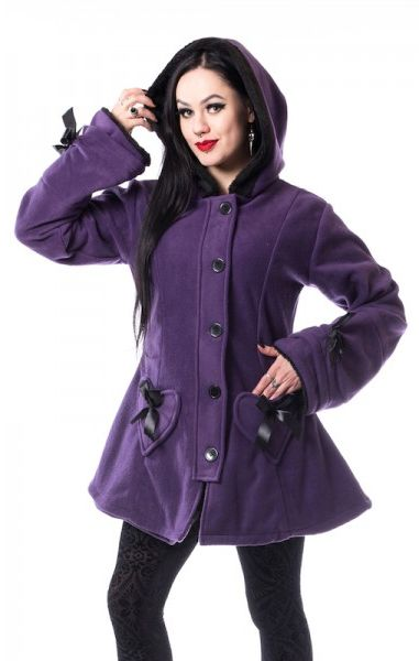 Alison Coat - Purple