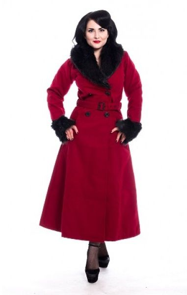 Bianca Coat - Red