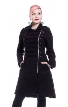 Dark Romance Coat - Black