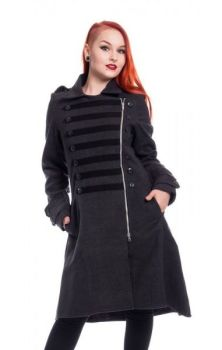 Dark Romance Coat - Grey