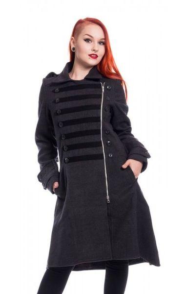 Dark Romance Coat - Grey