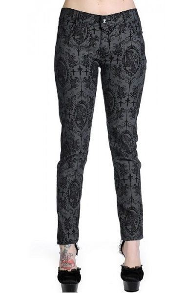 Cross Cameo Grey Trousers 427