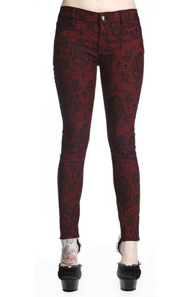 Cross Cameo Red Trousers 427