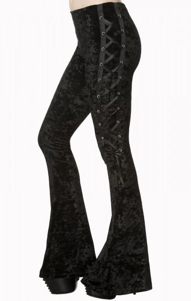 Haunting Return Flare Trousers