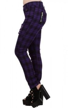 Move On Up Trousers Purple TR4053