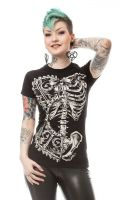 Bone Corset Tshirt