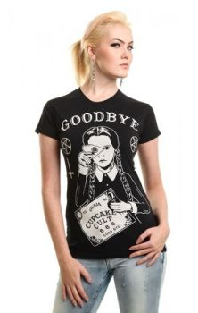 Cult Wednesday Tee - Addams Family Inspired