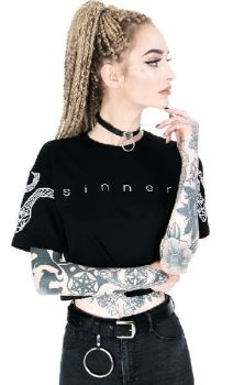 Sinner Crop Top