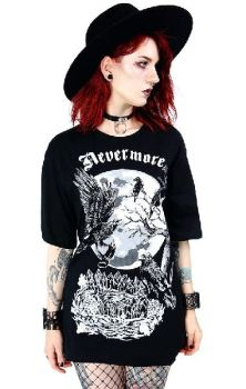 Nevermore Oversized Top