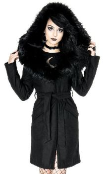 Arcanum Coat Black
