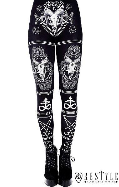 Satanic Leggings
